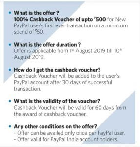 Myntra Paypal Offer - Get 100% Cashback Voucher Upto Rs.500 From PayPal 2