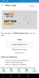 ChqBook Refer & Earn - Signup & Get 1500 Points + Refer 3 Friends & Get Rs.500 Amazon Voucher 2