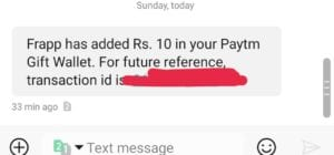 [Instant] Frapp App - Get Rs.10 PayTM Cash On signup & Rs.5 Per Referral 1
