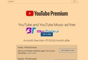 Youtube Premium Trick - Get 6 Month Youtube Premium For Free 3