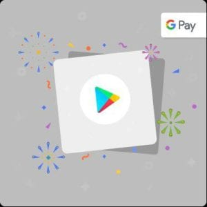 Google Pay Offer - Do Rs.50 Transaction on Google Play & Get Rs.50 Cashback in Google Pay 1