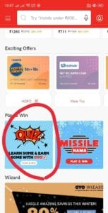 [Today's Answer] Oyo Quiz Answers - Just Shake Your Phone & Win PayTM Cash, Echo Dot & Other Prizes 2