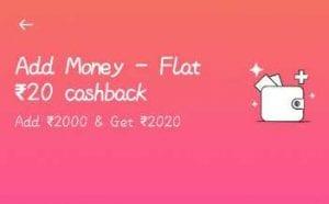 PayTM Add Money Cashback Offers - Rs.50 Cashback on Add Money Rs.500 6