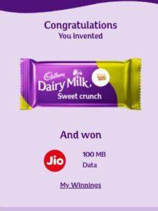 Jio Cadbury
