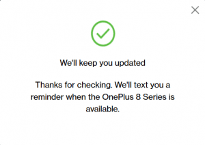 OnePlus 8 Launch Event Offer