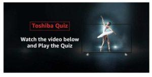 Amazon Toshiba Quiz