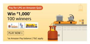 Amazon Pay For LPG