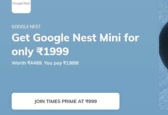 Google nest Mini Offers