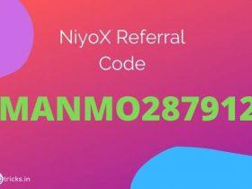 NiyoX Referral Code